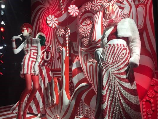 Christmas window NY