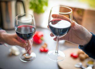 wine glass shape